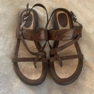 B.O.C. Leather Strappy Sandals